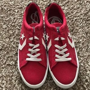 New, never worn men's red Converse All Stars